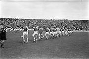 22/07/1962<br /> 07/22/1962<br /> 22 July 1962<br /> Leinster Hurling Final: Wexford v Kilkenny at Croke Park, Dublin. <br /> Wexford team: P. Nolan, T. Neville, N. O'Donnell, E. Colfer, J. English, W. Rachard, J. Nolan, M. Lying, P. Wilson, J. O'Brien, P. Kehoe, P. Lynch, O. McGrath, E. Wheeler, T. Flood