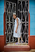 Woman in Trinidad, Cuba. February / 2014.