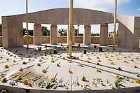 Memorial Day Flowers at State Veterans Memorial, Santa Fe, New Mexico