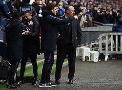 Newcastle United manager Rafael Benitez and Tottenham Hotspur manager Mauricio Pochettino