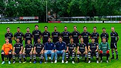 "Photoshoot of the selection 2020-2021, under 23 of VV Maarssen with the Corona rule ""1.5 meters away"" <br /> Front L-R: Shane van Zanten, Serkan Yasar<br /> , Anis Ziani, Kubilay Karatas, Georgios Bacharidis, Rick Welink, Nordin Zoufri, Tim Noltes, Majid Bouraada, Gino van Luijn. Back L-R: Anass Cherkaoui, Karim el Khinifri, Oussama el Hammouti, Bastiaan Baas, Guiliano Vink, Guillermo Rosalia, Ronald Wielinga, Yorick de Haas, Jacko Martens, Joeri de Caes, Hamid Cortet, Youri Kuijer<br /> on 16 June 2020, sports park Daalseweide in Maarssen."