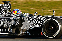 RICCIARDO daniel (aus) red bull renault rb11 action during Formula 1 winter tests 2015 at Barcelona, Spain from February 19th to 22nd. Photo DPPI / Florent Gooden.
