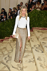 Sienna Miller attending the Costume Institute Benefit at The Metropolitan Museum of Art celebrating the opening of Heavenly Bodies: Fashion and the Catholic Imagination. The Metropolitan Museum of Art, New York City, New York, May 7, 2018. Photo by Lionel Hahn/ABACAPRESS.COM