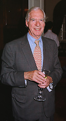 SIR CAMPBELL ADAMSON at a party in London on 29th June 1999.MTX 78