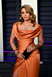 Paris Jackson attending the Vanity Fair Oscar Party held at the Wallis Annenberg Center for the Performing Arts in Beverly Hills, Los Angeles, California, USA.