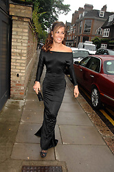 TARA PALMER-TOMPKINSON at the annual Sir David & Lady Carina Frost Summer Party in Carlyle Square, London SW3 on 5th July 2007.<br />