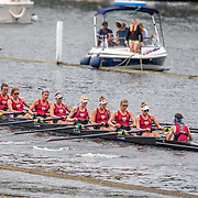NZ Womens eight<br /> <br /> Racing at the Henley Royal Regatta on The Thames river, Henley on Thames, England. Saturday 6 July 2019. © Copyright photo Steve McArthur / www.photosport.nz
