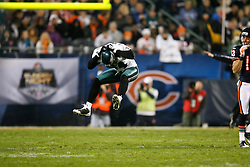 Philadelphia Eagles cornerback Sheldon Brown #24 reacts after an near interception during the NFL game between the Philadelphia Eagles and the Chicago Bears on November 22nd 2009. The Eagles won 24-20 at Soldier Field in Chicago, Illinois. (Photo By Brian Garfinkel)