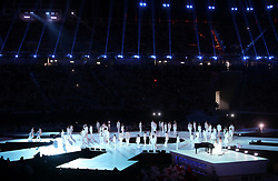 Performer during the Closing Ceremony for the PyeongChang 2018 Winter Paralympics in South Korea.