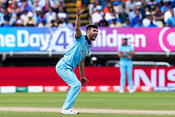 Mark Wood of England appeals for an LBW - Mandatory by-line: Robbie Stephenson/JMP - 30/06/2019 - CRICKET - Edgbaston - Birmingham, England - England v India - ICC Cricket World Cup 2019 - Group Stage