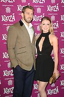 Chris Robshaw, Camilla Kerslake, Cirque du Soleil: Kooza - press night, Royal Albert Hall, London UK, 06 January 2015, Photo by Richard Goldschmidt