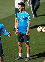 May 4, 2019 - Madrid, Madrid, Spain - Asensio of Real Madrid in action during training day, May 04th, in Ciudad Deportiva Real Madrid, in Valdebebas, Madrid, Spain. (Credit Image: © AFP7 via ZUMA Wire)