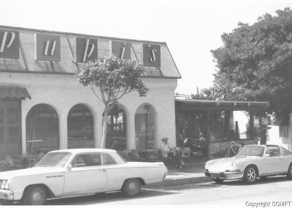 1973 Pupi's Restaurant on Sunset Blvd.