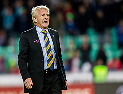 Gordon Strachan, head coach of Scotland after the football match between National Teams of Slovenia and Scotland of Fifa 2018 World Cup European qualifiers, on October 8, 2017 in SRC Stozice, Ljubljana, Slovenia. Photo by Vid Ponikvar / Sportida