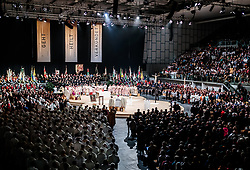 02.12.2017, Olympiahalle, Innsbruck, AUT, Bischofsweihe von Hermann Glettler, im Bild Uerbsicht // Overview during the Mass of the Episcopal ordination of Hermann Glettler at the Olympiahalle in Innsbruck, Austria on 2017/12/02. EXPA Pictures © 2017, PhotoCredit: EXPA/ JFK