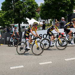 GSTAAD (SUI) CYCLING<br /> Tour de Suisse stage 4<br /> Start stage 4<br /> Antwan Tolhoek