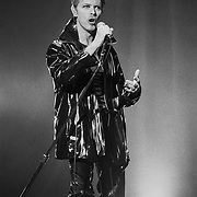 NEW JERSEY - SEPTEMBER 22: David Bowie performs September 22, 1995, in Camden, New Jersey. ©Lisa Lake