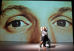 The Point at Which it Last Made Sense <br /> directed by Robin Dingemans and Nick Bryson <br /> at Lilian Baylis Studio, Sadler's Wells, London, Great Britain <br /> 9th October 2015 <br /> press photocall<br /> <br /> Michael Turinsky <br /> Marlieke Burghouts <br /> <br /> Supported using public funding by Arts Council England, Arts Council of Ireland, a Greenwich Dance & Trinity Laban Partnership Compass Commission, Co-commissioned by Pavilion Dance South West, with further support from Legitimate Bodies Dance Company, Birr Theatre and Arts Centre, South East Dance, Escalator Dance, The Place and Roehampton University. <br /> <br /> <br /> Photograph by Elliott Franks <br /> Image licensed to Elliott Franks Photography Services