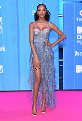 Jourdan Dunn attending the MTV Europe Music Awards 2018 held at the Bilbao Exhibition Centre, Spain. Photo credit should read: Doug Peters/EMPICS
