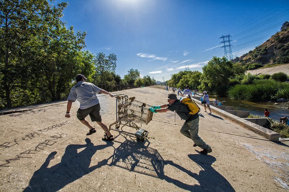 "FoLAR's annual ""La Gran Limpieza"" clean up of the Los Angeles River."