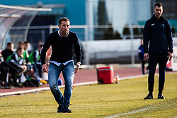 Vlado Smit head coach of NK Triglav  during football match between NK Triglav and NK Rudar in Round #21 of Prva liga Telekom Slovenije 2019/20, 22 February, 2020 in Sports park Kranj, Slovenia. Photo By Grega Valancic / Sportida