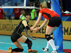 FairPlay during the match between Japan and Belgium