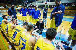 GGD Sencur team during basketball match between GGD Sencur and Zlatorog Lasko in First Round of 1. SKL 2020/21, on October 31, 2020 in Sport hall Sencur, Sencur, Slovenia. Photo by Grega Valancic / Sportida
