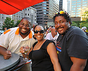 People dancing, partying, and have a good time at Lee Jones's Sundae dance party in 2011. This weekly event is held at Table 31 each Sunday in Center City.