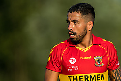 Bruno Fernandes Andrade  de Brito of Go Ahead Eagles during the Friendly match between Go Ahead Eagles and Excelsior Rotterdam at sportcomplex SV Terwolde on July 20, 2018 in Terwolde, The Netherlands