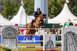 KENNY Darragh (IRL), Babalou<br /> Aachen - CHIO 2018<br /> Rolex Grand Prix 1. Umlauf<br /> Der Grosse Preis von Aachen<br /> 22. Juli 2018<br /> © www.sportfotos-lafrentz.de/Stefan Lafrentz
