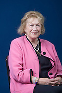 Celebrated Anglo-Irish writer and biographer lady Antonia Fraser, pictured at the Edinburgh International Book Festival where she talked about her memoir recollecting her life together with her late husband Harold Pinter. The three-week event is the world's biggest literary festival and is held during the annual Edinburgh Festival. The 2010 event featured talks and presentations by more than 500 authors from around the world.