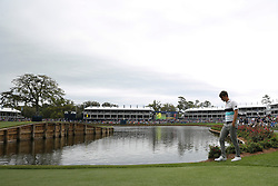 March 16, 2019 - Ponte Vedra Beach, FL, U.S. - PONTE VEDRA BEACH, FL - MARCH 16: Ollie Schniederjans of the United States walks on the 17th hole during the third round of THE PLAYERS Championship on March 16, 2019 on the Stadium Course at TPC Sawgrass in Ponte Vedra Beach, Fl. (Photo by David Rosenblum/Icon Sportswire) (Credit Image: © David Rosenblum/Icon SMI via ZUMA Press)