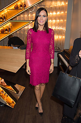 LINZI STOPPARD at the launch of La Maison Remy Martin pop-up private members club at 19 Greek Street, Soho, London on 2nd November 2015.
