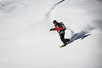 OG splitboarder Maxwell J Morrill in his Wasatch Backcountry, Utah.