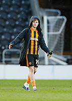 Hull City's Keane Lewis-Potter at the end of the match<br /> <br /> Photographer Lee Parker/CameraSport<br /> <br /> The EFL Sky Bet League One - Hull City v Oxford United - Saturday 13th March 2021 - KCOM Stadium - Kingston upon Hull<br /> <br /> World Copyright © 2021 CameraSport. All rights reserved. 43 Linden Ave. Countesthorpe. Leicester. England. LE8 5PG - Tel: +44 (0) 116 277 4147 - admin@camerasport.com - www.camerasport.com