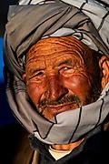 Friendly old Hazara man, Unesco National Park, Band-E-Amir National Park, Afghanistan