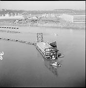 "ackroyd-P144-30. ""PIA Dredge aerials. November 17, 1965"" (Dredge filling Mocks bottom)"
