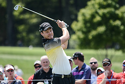 August 10, 2018 - Town And Country, Missouri, U.S - DANNY WILLETT from England on the third tee during round two of the 100th PGA Championship on Friday, August 10, 2018, held at Bellerive Country Club in Town and Country, MO (Photo credit Richard Ulreich / ZUMA Press) (Credit Image: © Richard Ulreich via ZUMA Wire)