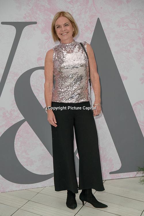 Mariella Frostrup arrives at V&A - summer party, on 19 June 2019, London, UK