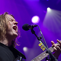 Scottish singer-songwriter Lewis Capaldi performs on the A38 Stage of Sziget Festival held in Budapest, Hungary on Aug. 14, 2018. ATTILA VOLGYI