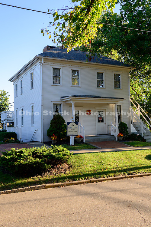 Photo of Clark Gable Birthplace in Cadiz, Ohio.