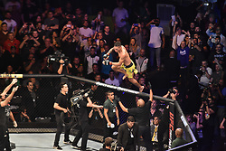 September 22, 2018 - SãO Paulo, Brazil - SÃO PAULO, SP - 22.09.2018: UFC FIGHT NIGHT MARRETA X ANDERS - Charles of Bronx Oliveira (BRA) X Christos Giagos (USA) at UFC Fight Night Marreta X Anders, this Saturday, (22) in São Paulo. (Credit Image: © Roberto Casimiro/Fotoarena via ZUMA Press)