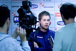 Head coach Primoz Pori at  press conference of Handball women national team of Slovenia before prequalification tournament (for World Championship China 2009) in Montenegro from 25th till 30th November 2008, on November 31, 2008, in RZS, Ljubljana, Slovenia. (Photo by Vid Ponikvar / Sportida)