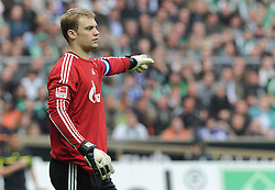 16.04.2011, Weserstadion, Bremen, GER, 1.FBL, Werder Bremen vs FC Schalke 04, im Bild Manuel Neuer (Schalke #1)   EXPA Pictures © 2011, PhotoCredit: EXPA/ nph/  Frisch       ****** out of GER / SWE / CRO  / BEL ******