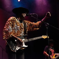 Blues musician Carvin Jones takes the stage in Gallup for the second time in his career on September 28, 2019, at the El Morro Theatre.
