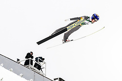 February 8, 2019 - Lahti, Finland - Johannes Lamparter competes during Nordic Combined, PCR/Qualification at Lahti Ski Games in Lahti, Finland on 8 February 2019. (Credit Image: © Antti Yrjonen/NurPhoto via ZUMA Press)