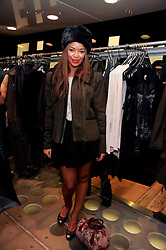 SARAH JANE CRAWFORD at a party to celebrate the Firetrap Watches and Kate Moross Collaboration Launch, held at Firetrap, 21 Earlham Street, London, UK on 13th October 2010.