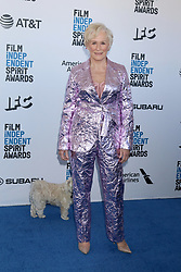 February 23, 2019 - Santa Monica, CA, USA - LOS ANGELES - FEB 23:  Glenn Close at the 2019 Film Independent Spirit Awards on the Beach on February 23, 2019 in Santa Monica, CA (Credit Image: © Kay Blake/ZUMA Wire)