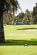 Golfers at San Gabriel Country Club