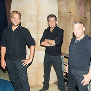 NLD/Aalsmeer/20150509 - Opname Nederland Muziekland, Ancora, Patrick Jongschaap, Harm Wolters, Martin Dam